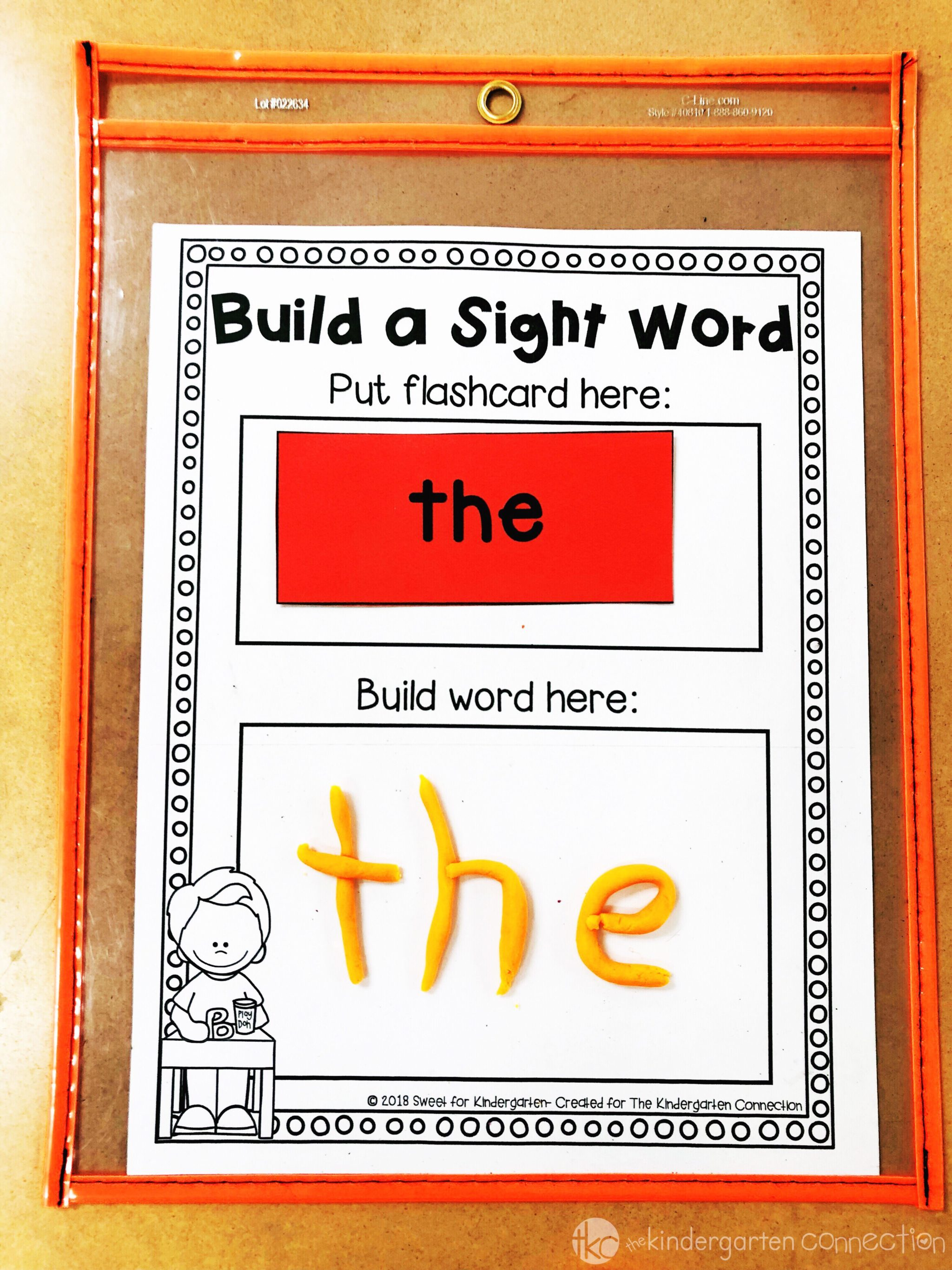 3 Hands On Sight Word Activities That Kids Will Love
