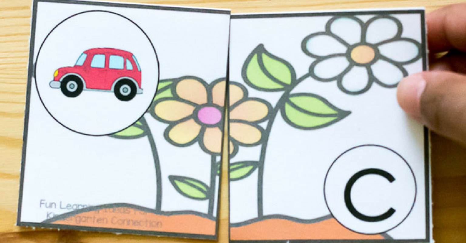 Free Printable Spring Beginning Sound Puzzles For Pre K