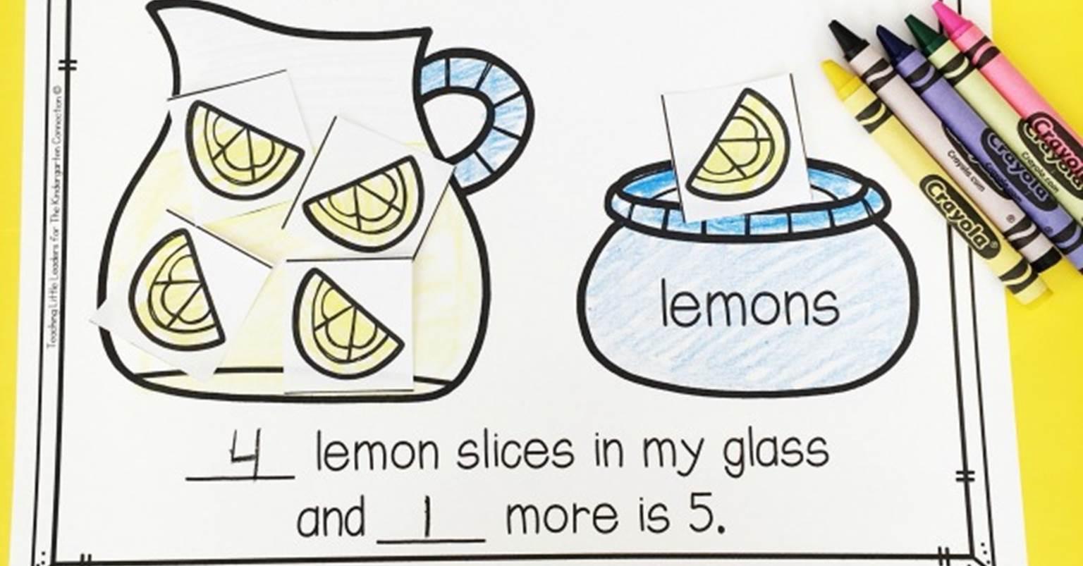Parts Of 5 Decomposing Numbers Lemonade Math Center