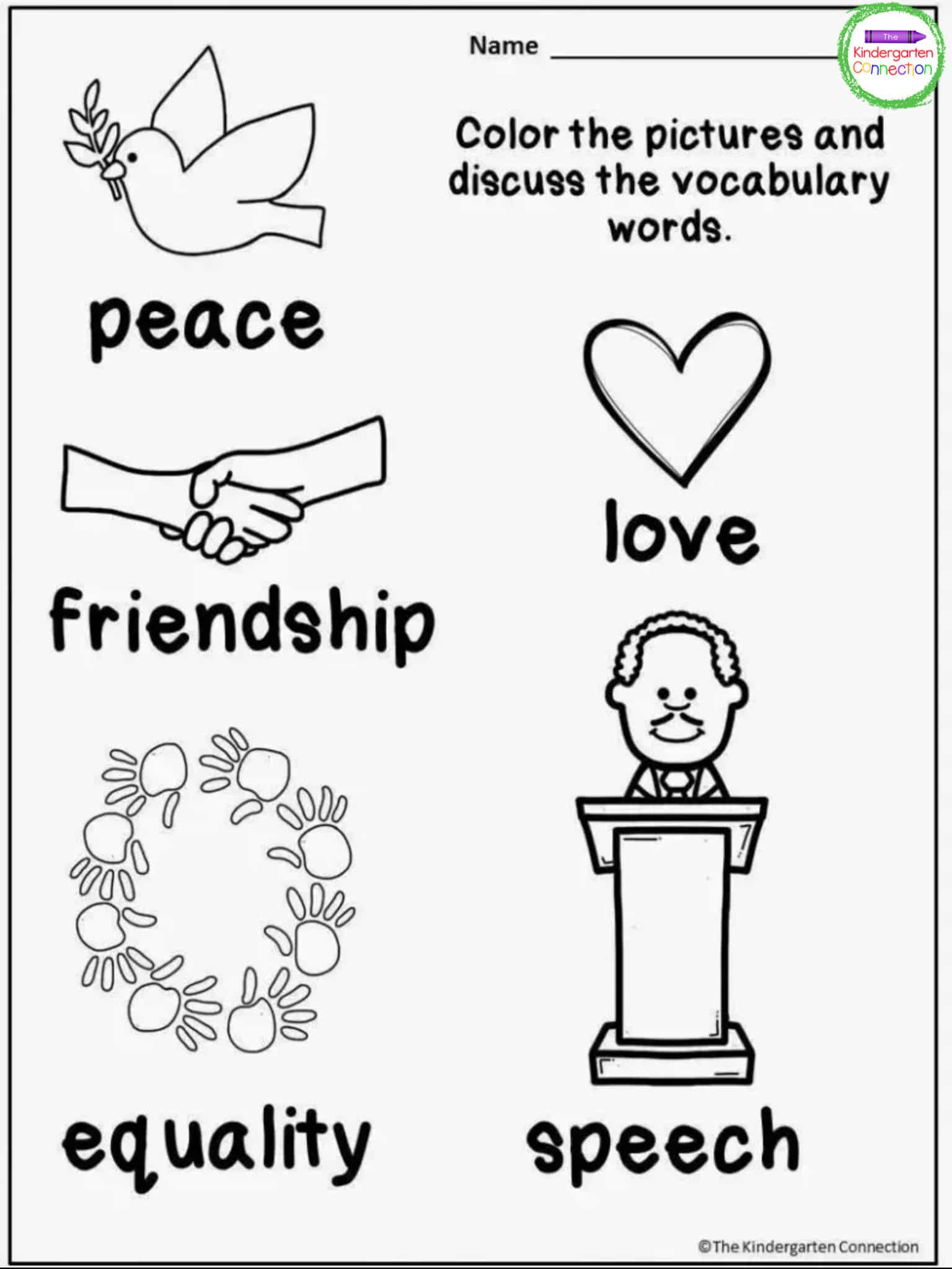 Free Martin Luther King Jr Printables And Read Alouds