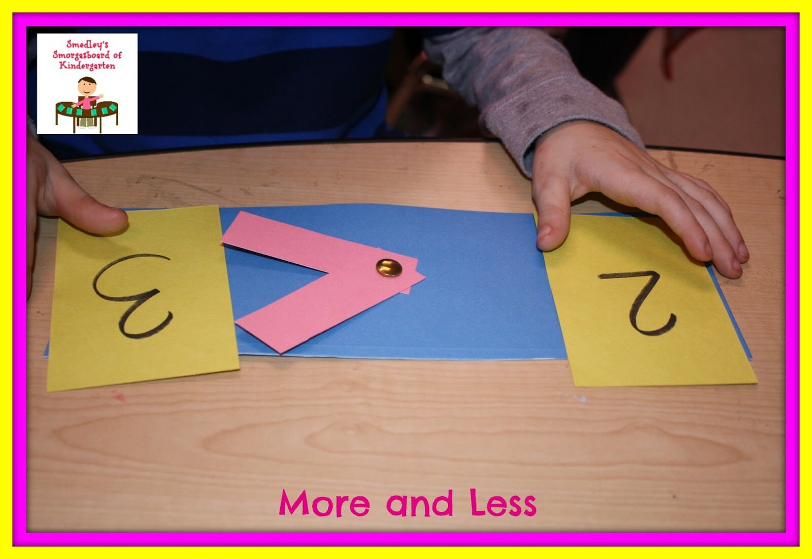 More Than And Less Than Worksheet For Kindergarten