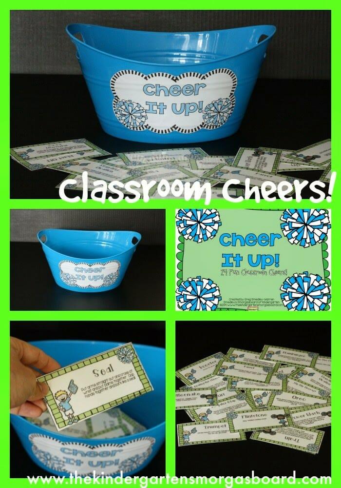 A Kindergarten Smorgasboard Class Cheerleader  The