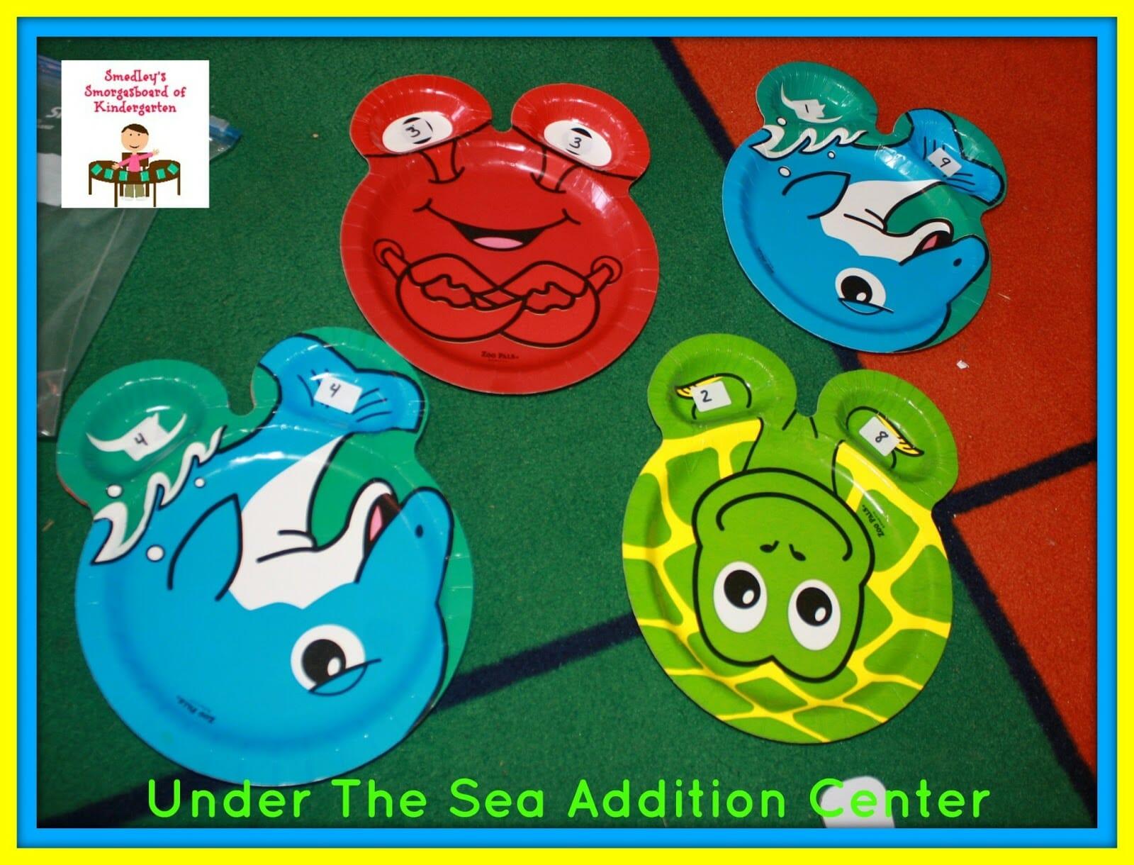 A Kindergarten Smorgaboard Under The Sea Addition Center