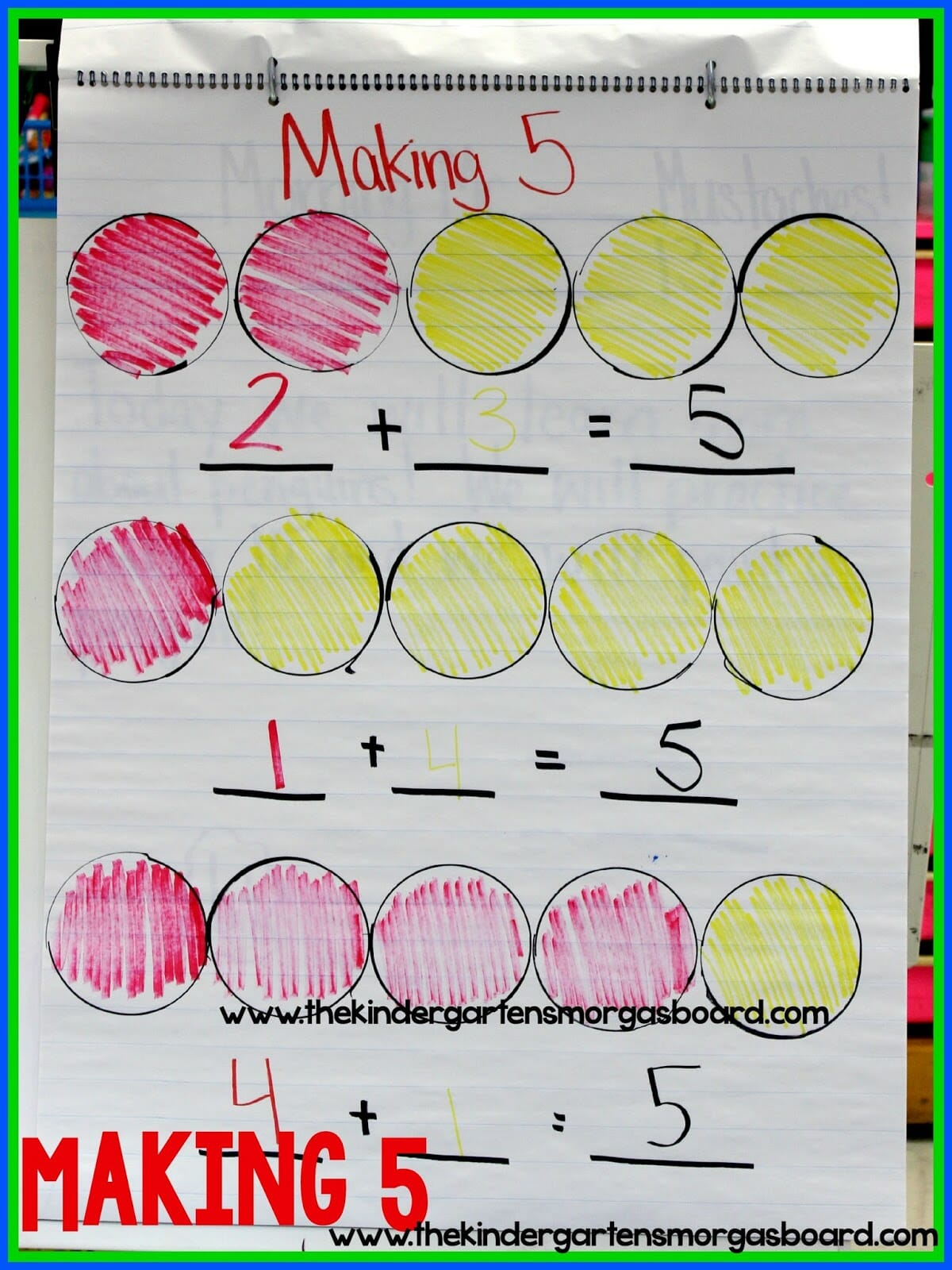 A Kindergarten Smorgasboard Making 5