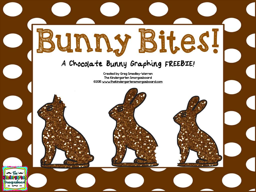 A Kindergarten Smorgasboard Chocolate Bunny Graphing