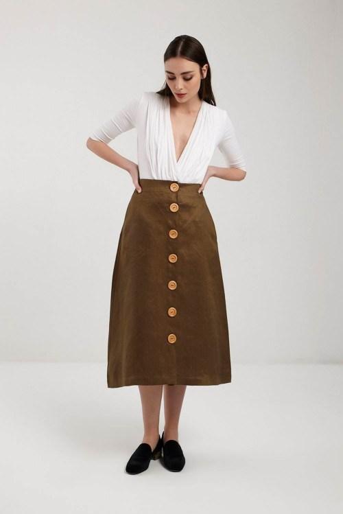 Lola Organic White Jersey & Voile Bodysuit, £70 @rakha.co.uk
