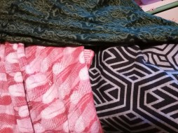 Comparison of FSF Poinsettia, Woven Wings West Wittering and Oscha Willow Nouveau