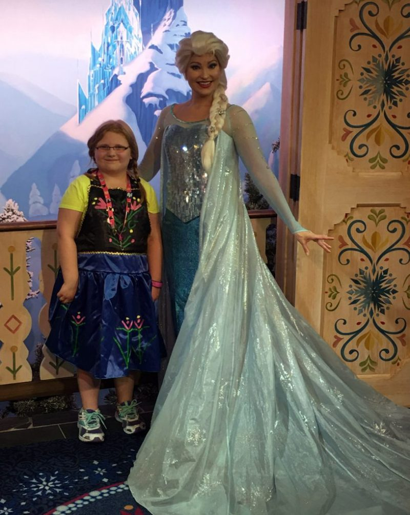 Anna and Elsa Disneybounding Apron