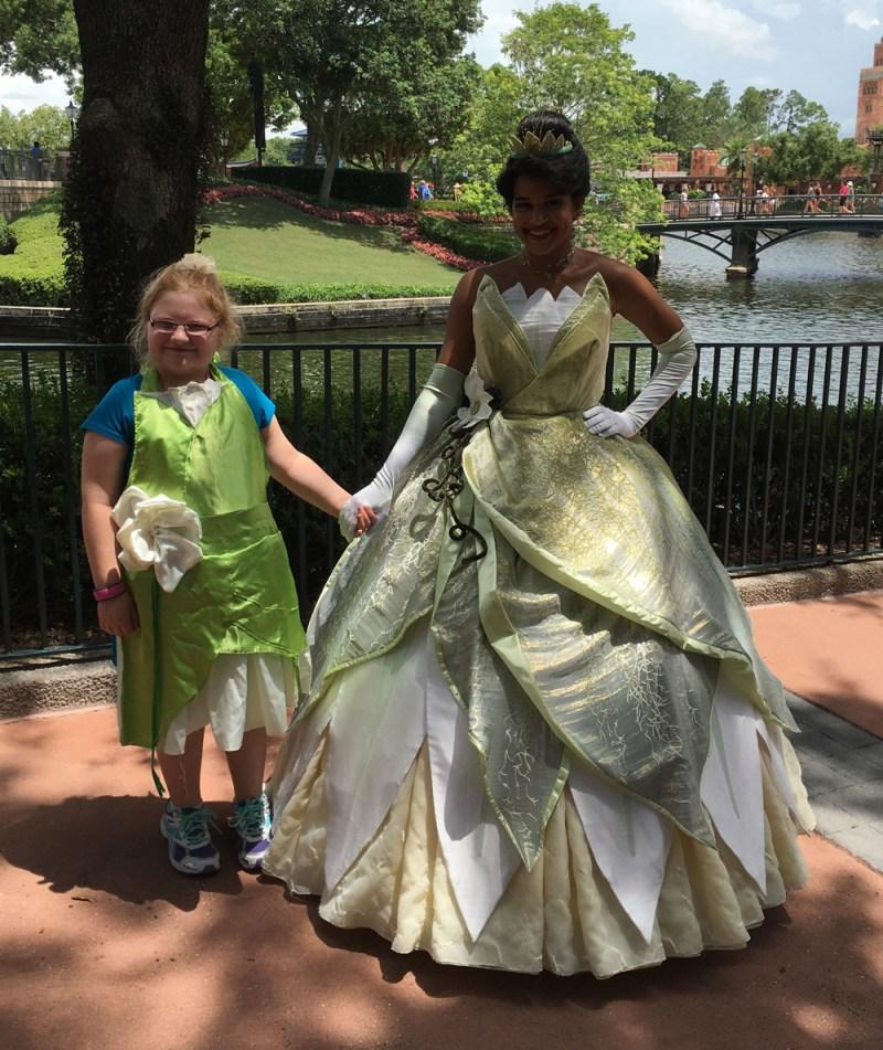 Tiana Disneybounding Apron