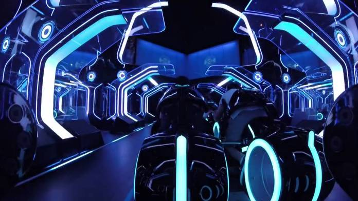 Tron Lightcycle Power Run in Shanghai Disneyland - Is the Tron Coaster Coming to Walt Disney World?