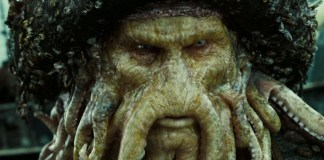 """Davy Jones (Bill Nighy) became encrusted with sea life when he turned to """"the dark side."""" 