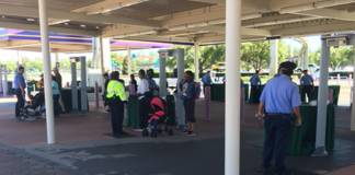 Disney World TTC Security
