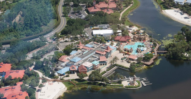 Caribbean Beach Resort Construction Progresses In Walt Disney World