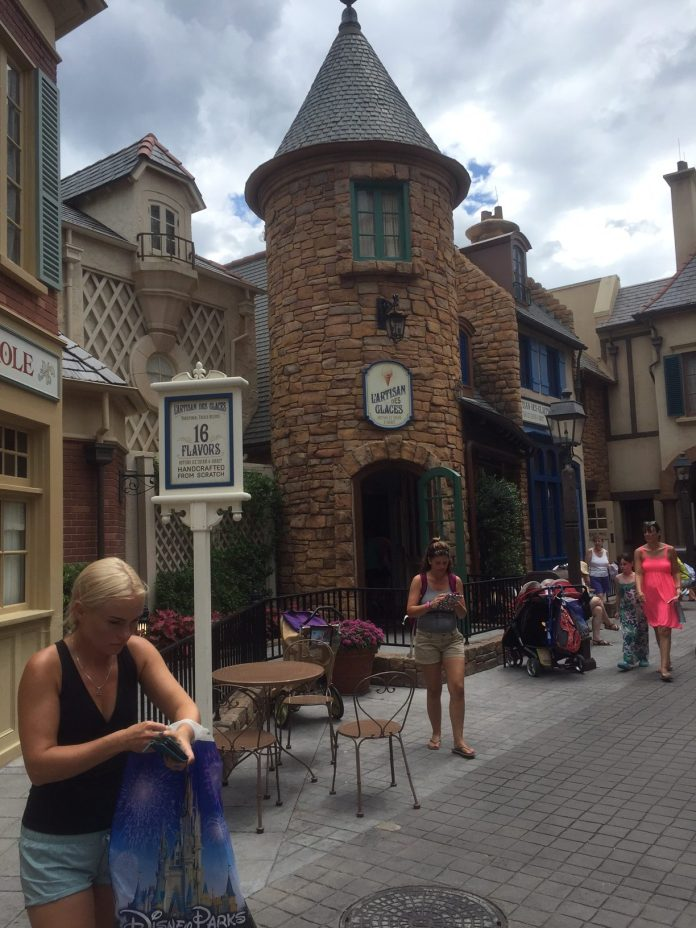 France Pavilion in Epcot