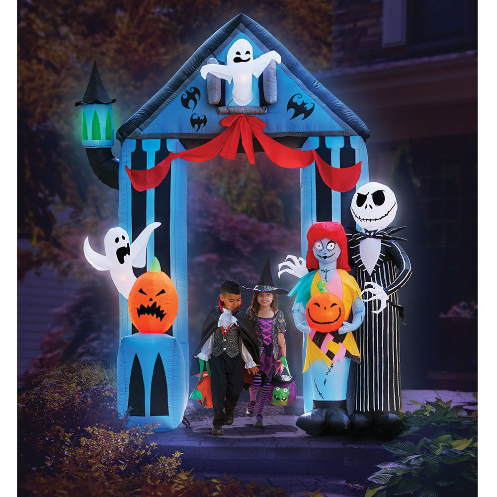gemmy inflatable nightmare before christmas - Nightmare Before Christmas Inflatable Lawn Decorations