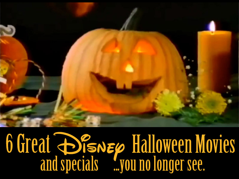 6 Great Disney Halloween Movies And Specials You No Longer