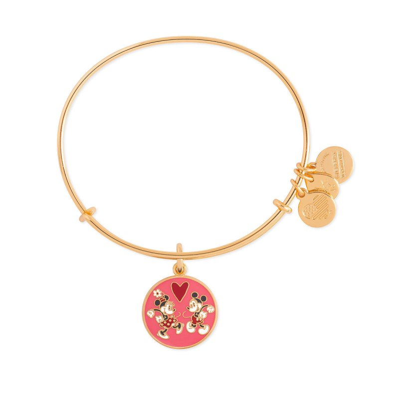 New Mickey and Minnie Love and Hearts Themed Alex and Ani ...