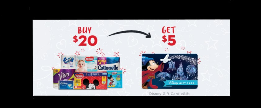 New 'Grow Up Young' Promotion Allows You To Earn $5 Disney Gift Card eGifts