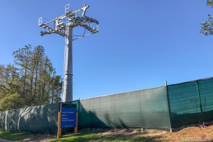 New Gondola Towers Showing Up Around Walt Disney World