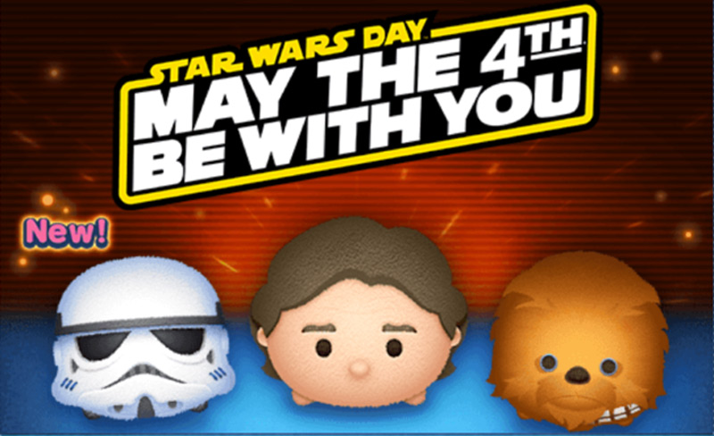 Star Wars Puzzles: May 2018 Tsum Tsum Event Begins Soon!