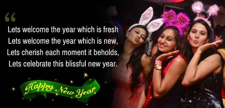 Happy New Year wishes and quotes