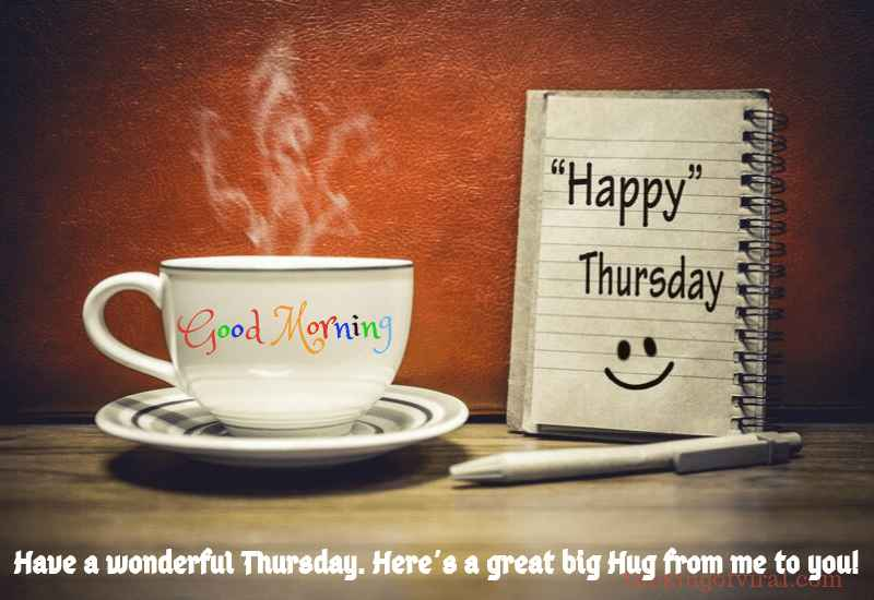 Good morning Thursday Coffee