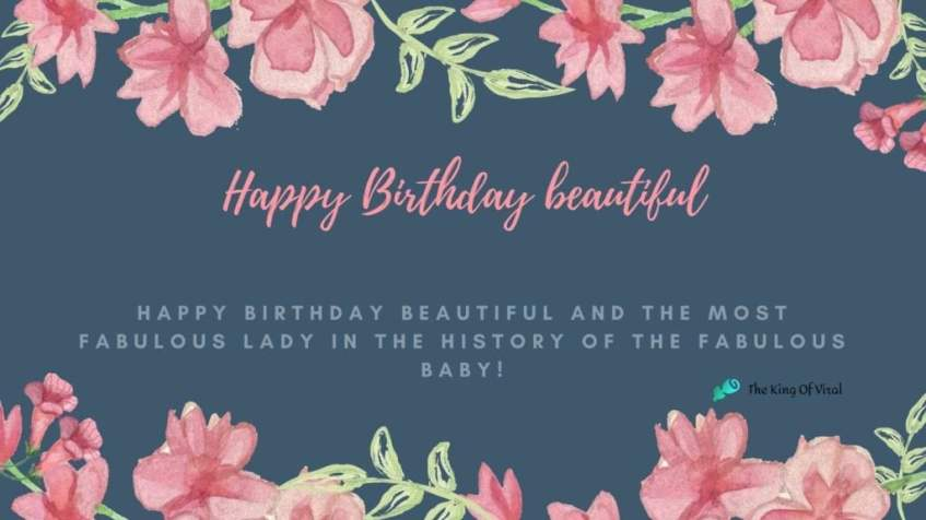 Beautiful happy birthday wishes images