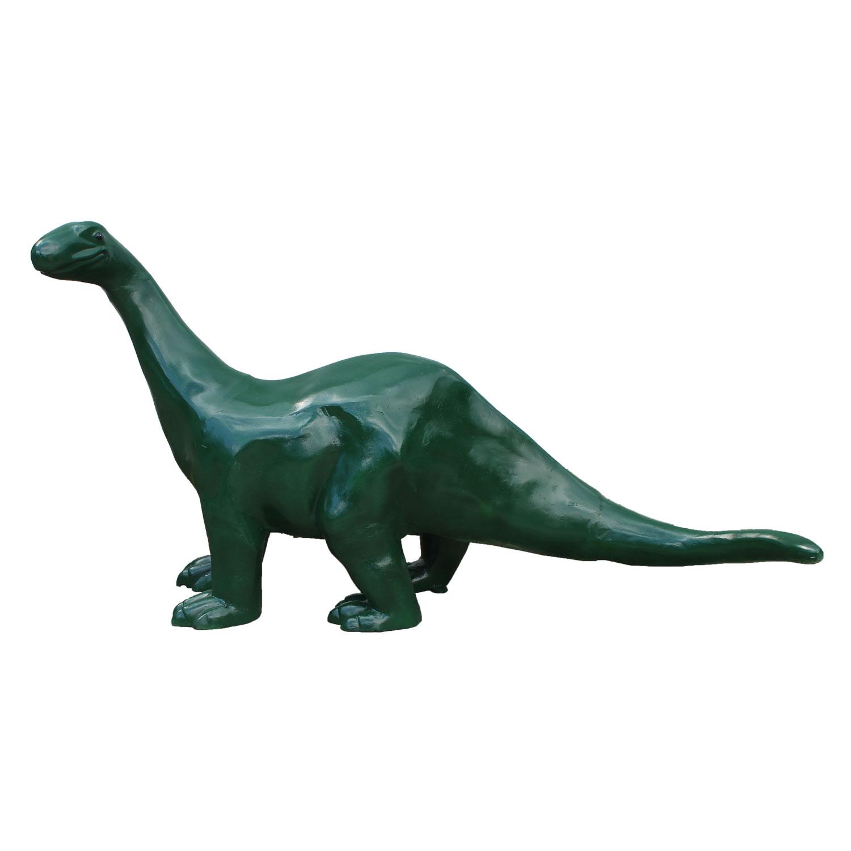 dinosaur statue long neck