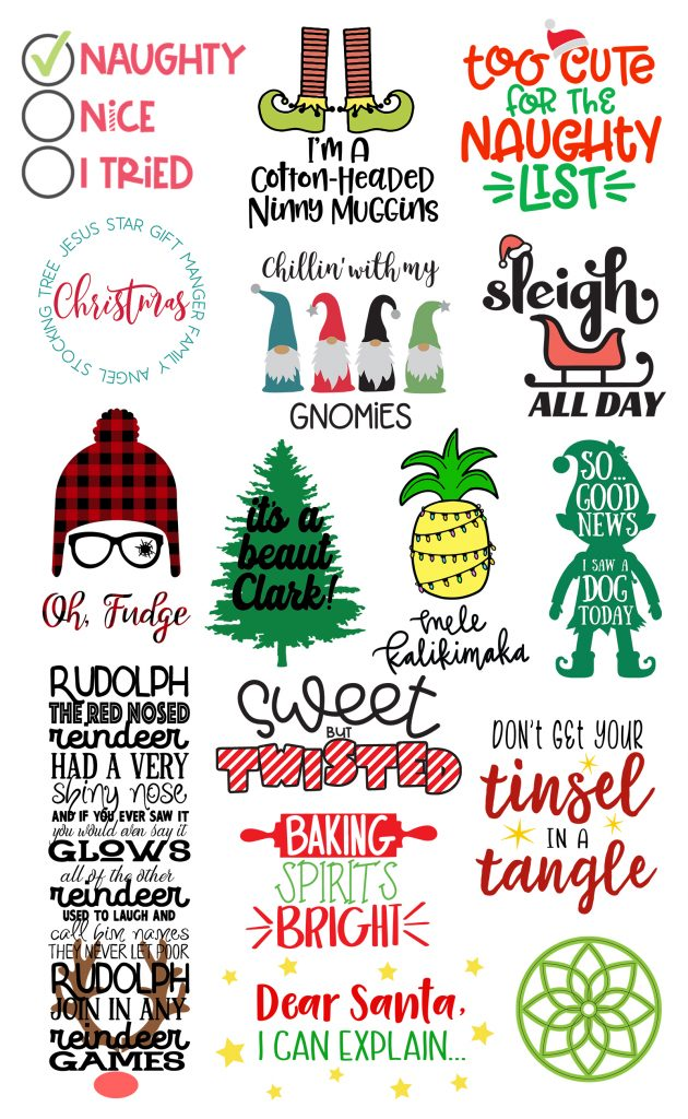 Free Christmas Svg Cutting Files : christmas, cutting, files, Files, Christmas, Kingston