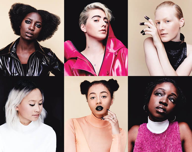 6 Women Test Drive Fall's Darkest Makeup Trends