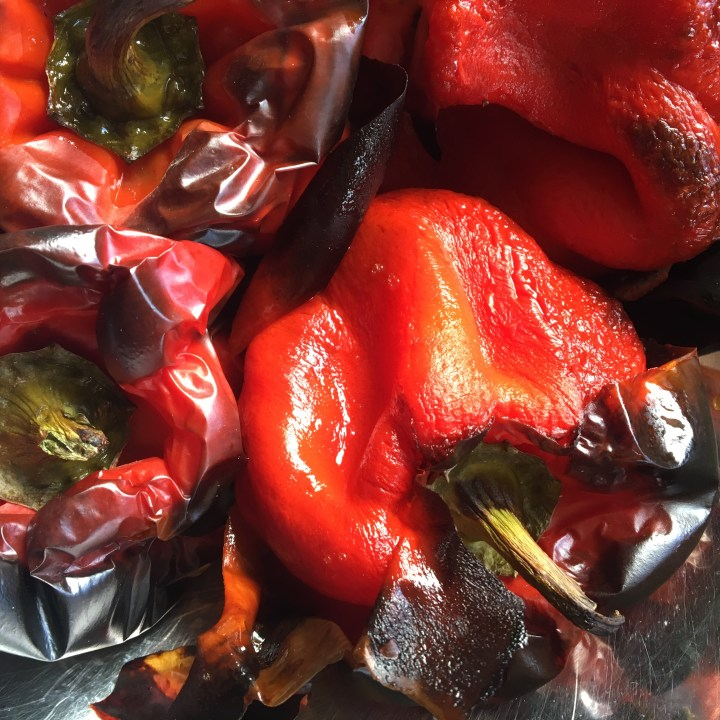 Slow Roasted Capsicums