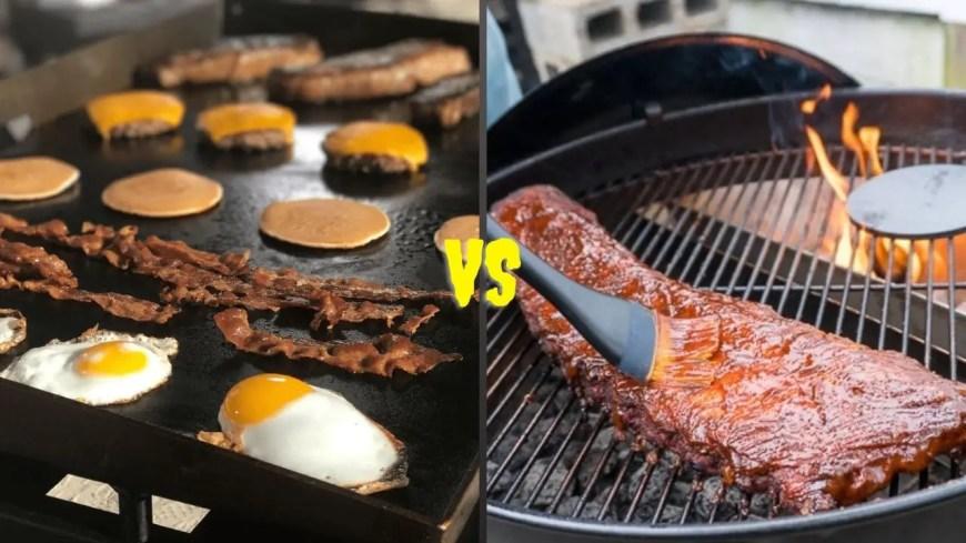 Griddle VS Grill