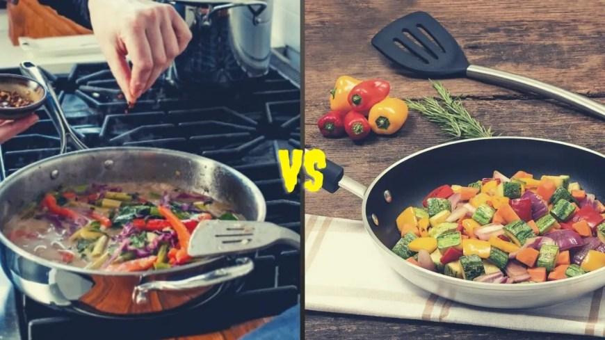 Saute Pan VS Fry Pan