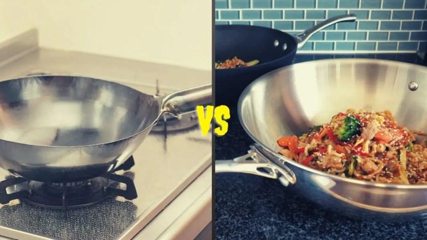 Stir Fry Pan VS Wok