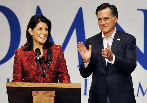 Governor Haley Endorses Mitt Romney