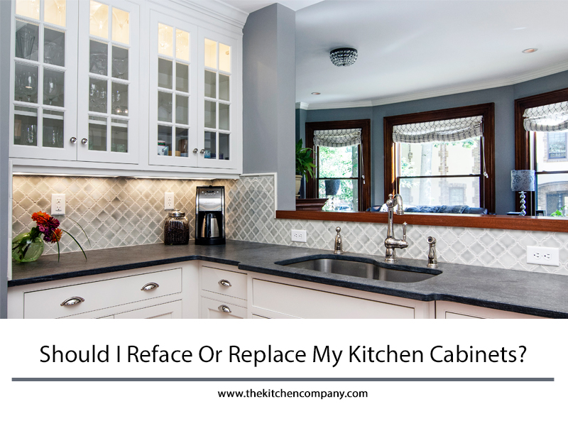 Should I Reface Or Replace My Kitchen Cabinets  Kitchen