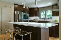 Midcentury Modern Kitchen in Guilford, CT | Kitchen ...