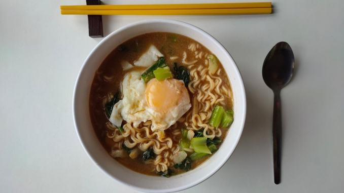 how to microwave ramen noodles