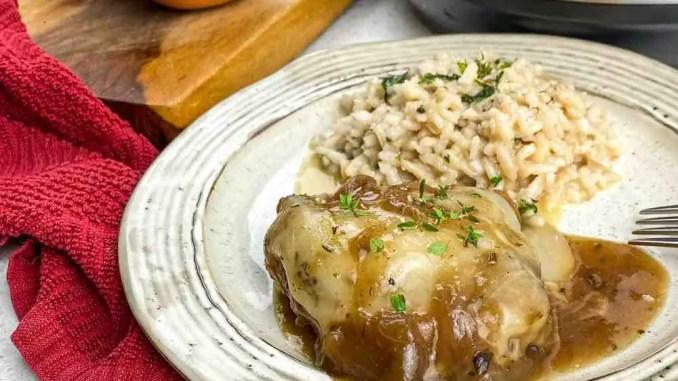 French Onion Chicken Recipe
