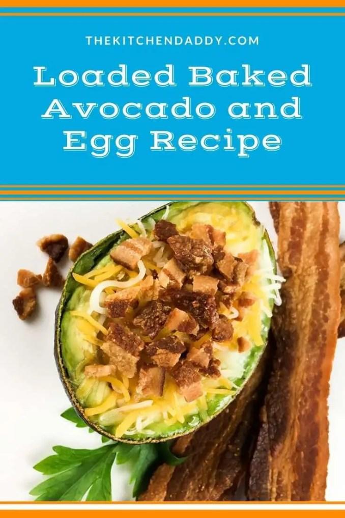 Loaded Baked Avocado and Egg Recipe