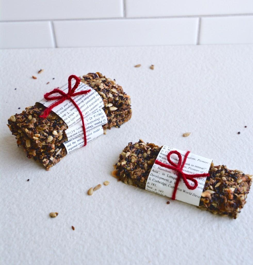 Quinoa Protein Bars [GF]