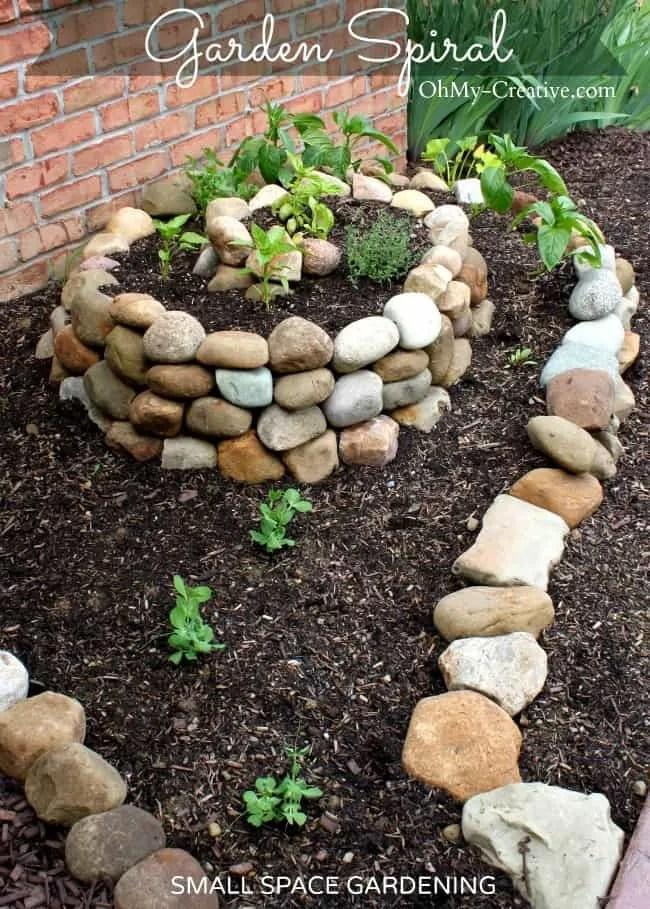 Garden Spiral by Ohmy-creative.com