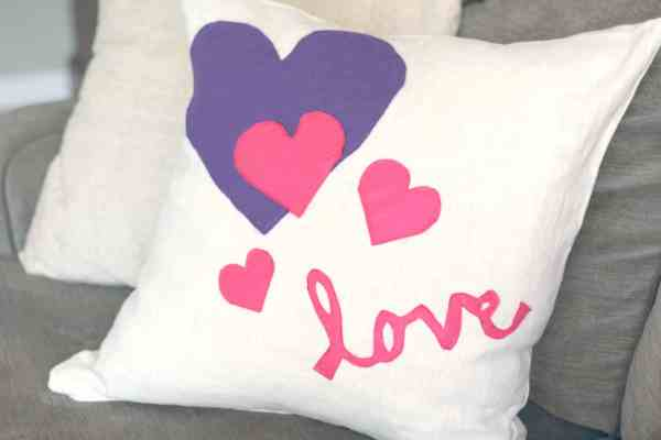 valentine's pillow