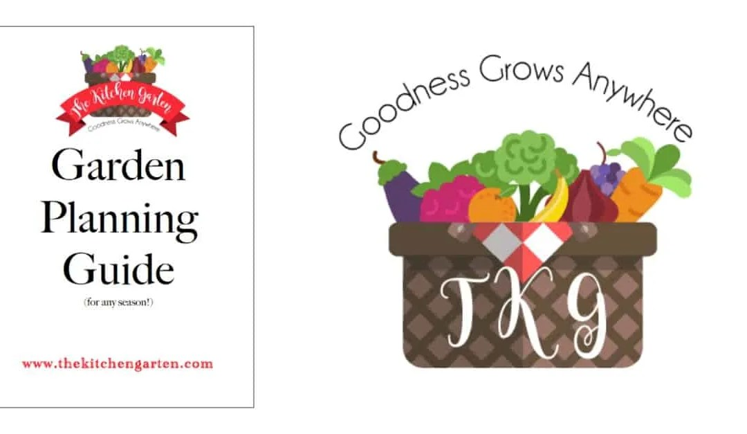 Free Kitchen Garden Planner!