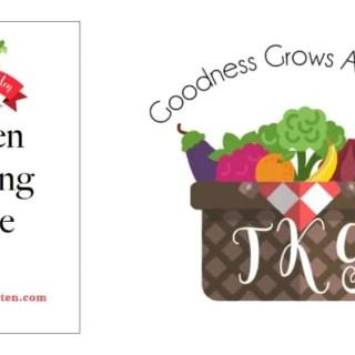 Printable Free Garden Planner!