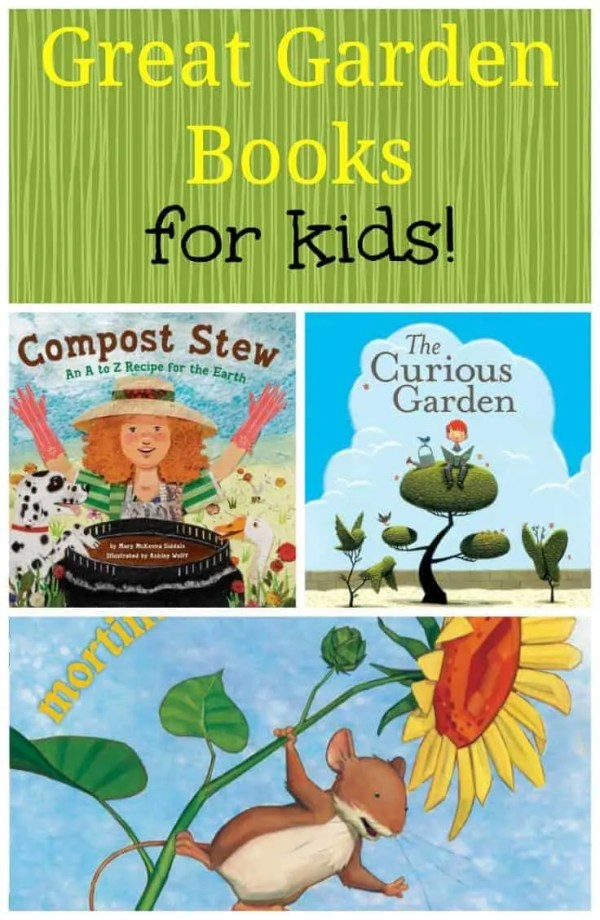 kids garden books