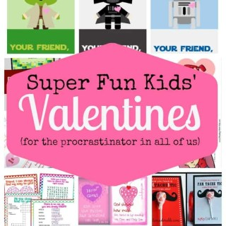 Super Fun Kids' Valentines (Free Printables!)