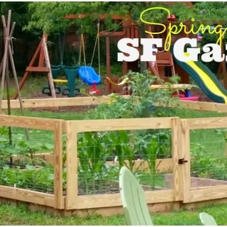 Our Spring Square-foot Garden Plans