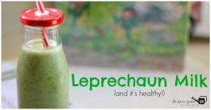 leprechaun milk smoothie