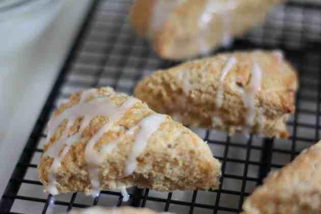 glazed scones